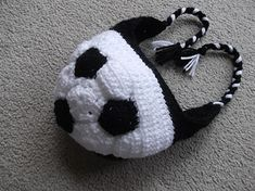 Three Beans in a Pod: Football or Soccer? ~ free pattern