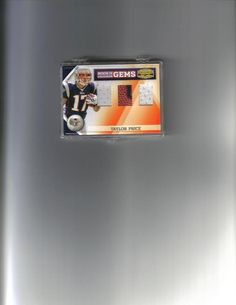 TAYLOR PRICE DBL WHITE JERSEY CARD/BALL #'D 46/50