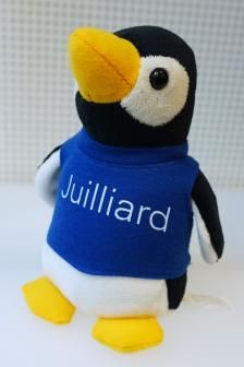 What Is Juilliard >> The Popular Plush Penguin In Juilliard Blue The Juilliard