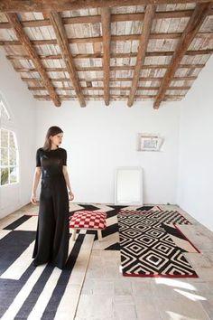 Mélange collection designed by Sybilla. Reinterpreting the Kilim.