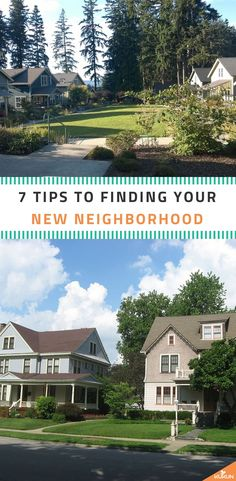 Thinking about moving to a different neighborhood? Your new neighborhood is a big factor when it comes to buying a home, so here are some tips to get you on the right track. #MovingTips #RealEstateTips #MovingToANewNeighborhood