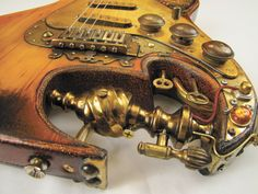 Steampunk Guitar Building with Tony Cochran :: Performer Magazine