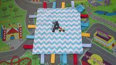 Personalised-Taggie-Lovey-with-Applique-and-Name-Handmade-Dummy-Holder Blankets, Applique, Toys, Baby, Handmade, Hand Made, Newborns, Carpet, Blanket