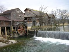 Old Mill Restaurant in Pigeon Forge, Tennessee #pigeonforge