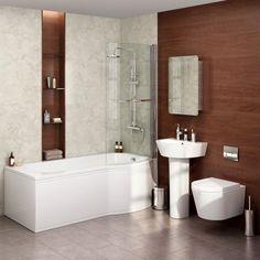 Beresford Shower Bath Amp Front Panel Left Hand 1500mm