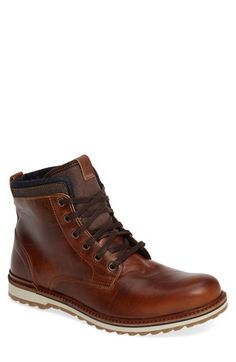 Free shipping and returns on ALDO Qorellan Plain Toe Boot (Men) at Nordstrom.com. Rugged, richly colored leather adds vintage charm to a versatile boot built with cool denim trim and a tough lug sole.