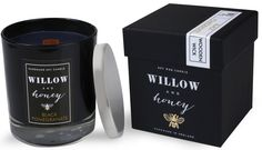 soy candles black - Bing images