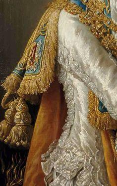 Compte de Provence,Louis-Stanislas Xavier by Francois-Hubert Drouais  - Click to enlarge Fashion History, Fashion Art, Art Ancien, Historical Costume, Historical Dress, Painted Clothes, Classic Paintings, Victorian Art, Classical Art