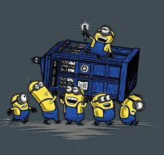 The Minions Have The T.A.R D.I.S