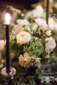 Emily & Steven //Winter Lake Placid Lodge Wedding | Renaissance Floral Design