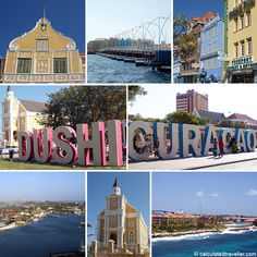 Curacao - the meaning of Dushi. Dushi has a lot of meanings.but it mostly means sweet, nice or good and the expression fits this beautiful island of Curacao perfectly. Caribbean Vacations, Caribbean Cruise, Vacation Destinations, Vacation Spots, Beautiful Islands, Beautiful Places, Southern Caribbean, Caribbean Netherlands, Willemstad