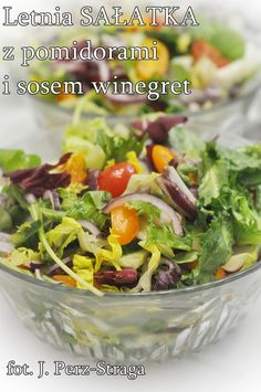 Przepisy na surówki do obiadu - Damsko-męskie spojrzenie na kuchnię Vinaigrette, Cabbage, Vegetables, Food, Essen, Cabbages, Vegetable Recipes, Meals, Yemek