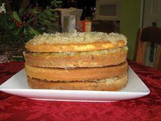 Mom's Best Layer Cakes-  Japanese Fruit Cake Recipe