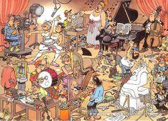 Jan Van Haasteren - The Artists