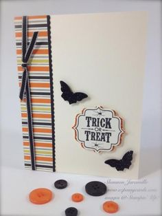 Tags 4 You #1 - Halloween by SKJaramillo - Cards and Paper Crafts at Splitcoaststampers
