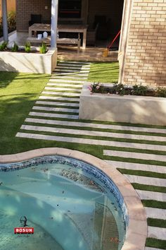 Bosun Linneo pavers create a contemporary finish to your outdoor living areas. Pool Paving, Light Colors, Colours, Modern Pools, Outdoor Living Areas, Pool Designs, Swimming Pools, Contemporary, Create