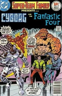 Super Team Family: Cyborg joins Fantastic Four