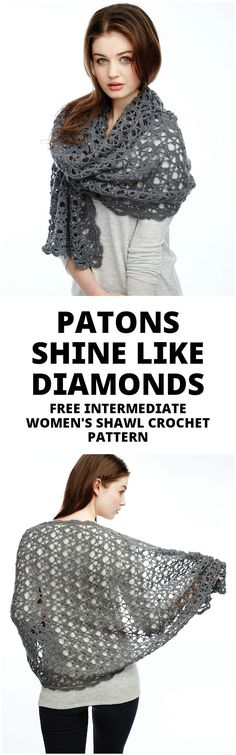 Crochet Women's Shawl - 100 Free Crochet Shawl Patterns - Free Crochet Patterns - Page 5 of 19 - DIY & Crafts