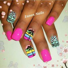 HOT holiday nails