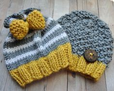 80 Best Baby Hats - Knit Beanies Striped images  2cbeecd423b