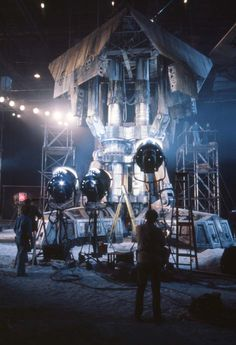 Just look at the incredible detail created to film the landing gear of the #Nostromo on #LV426 for #Alien (1979)