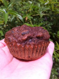 Eat Like A Gluten Free Prince: Chocolate Banana Muffins