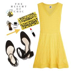 That Yellow Dress by adduncan on Polyvore featuring polyvore fashion style M Missoni clothing yellow lalaland