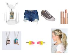"""""""Food!!"""" by hufflepuff394 on Polyvore featuring Topshop, Converse, Vivienne Westwood and Charlotte Tilbury"""