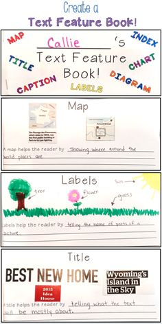 Help your upper elementary students develop a better understanding of nonfiction text features by creating a text feature book.