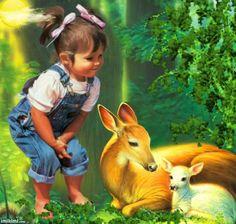 Bambi,bambi - http://imikimi.com/main/view_kimi/1cpma-2i4 by artist: Linnea-Olivia