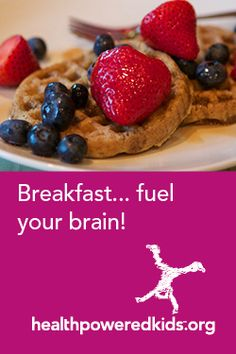 Help kids understand how breakfast provides the energy and nutrients to fuel their bodies and brains! Health Breakfast, Breakfast For Kids, Importance Of Breakfast, Very Hungry Caterpillar, Help Kids, Healthy Choices, Bodies, Health And Wellness, Good Food