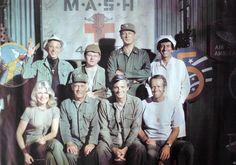 Vintage MASH Poster Television Cast Poster by PoorLittleRobin