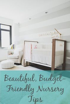 Been pinning gorgeous nursery decor but have a budget to consider? #Homepolish has curated an amazing list of tips.