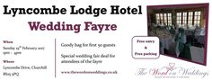 The Word on Weddings will be curating a wedding fair on Sunday February 2017 at Lyncombe Lodge Hotel. Running from until it's another great chance to talk to the experts as you plan your big day. Wedding Fayre, Hotel Wedding, Bristol, Big Day, February, Sunday, Weddings, How To Plan, Words