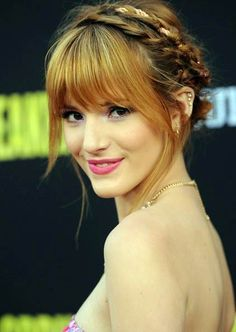 Bella Thorne And Her Braided Hairstyles read more http://www.ferbena.com/bella-thorne-braided-hairstyles.html