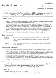 army health care administration resume httpjobresumesamplecom846 - Basic Resume Template Word