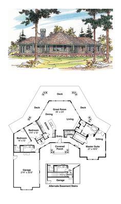 12 Awesome Octagon Style House Plans images in 2019   Country house on house plans with hidden rooms, house with a bow on it, house plans with turrets, house plans with 6 bedrooms, small house plans with porches, house plans with basements, house plans with deck porches, houses with large porches, cottage house plans with porches, house plans with front porches, house attached patio roof plans, house plans with metal roofs, house plans with two master suites, house plans with drive through portico, one story house plans with porches, southern house plans with porches, house plans with detached guest house, house plans with a view, house plans one story open floor plan, houses with back porches,