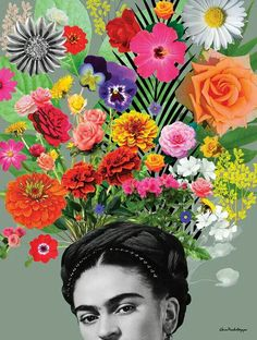 Frida Kahlo is one of the most famous painters in Mexican pop art! Customize your room with these pop art paintings! Collages, Collage Art, Fall Inspiration, Kahlo Paintings, Art Paintings, Frida And Diego, Frida Art, Pop Art, Collage Vintage