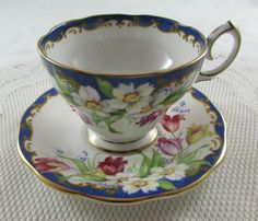 Bell China Narcissus Tea Cup and Saucer