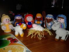 Amigurumi Nativity Español : Portal de belen crochet en español crochet