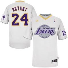 Buy Kobe Bryant Authentic In White Adidas NBA Los Angeles Lakers 2013  Christmas Day Mens Jersey Lastest from Reliable Kobe Bryant Authentic In  White Adidas ... 2ebfaa1ac