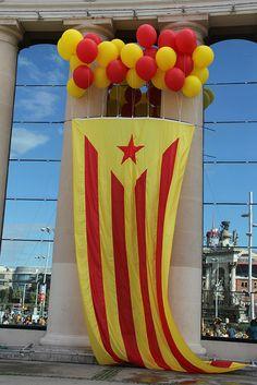 Via Catalana  tram 760  ESTELADA