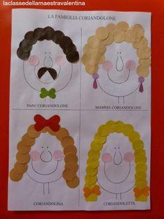 La classe della maestra Valentina: LA FAMIGLIA CORIANDOLONE Crafts For Kids, Arts And Crafts, Diy Crafts, Family Theme, Modern Family, Pre School, Toddler Activities, Funny Pictures, Funny Pics