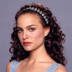 This is a prototype prop designed after Padme Amidalas Jeweled Headband worn with an aqua nightgown in Star Wars Episode III. This item was