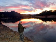 A Glimpse Of Heaven. Fishing up at Shasta Lake on Feb. 11th, 2011. It was supposed to be my romantic Valentine's Day getaway, however, he just could not resist the temptation to cast a few.