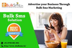 We can help you boost your business, Efficient SMS Service to Generate Leads! we provide SMS Marketing services to our clients, which help them to promote their business @ know more visit : http://www.ebulksms.in/