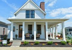 Kentucky Cottage with modern farmhouse style Meridian Construction