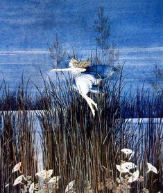 Fairy & Sedge grass |  Ida Rentoul  Outhwaite