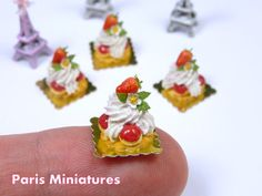 12th scale handmade miniature food