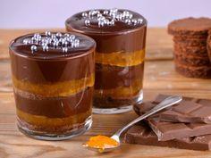 Receta | Tarta Sacher en copa - canalcocina.es